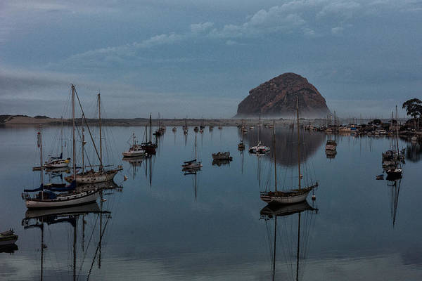 Photograph - Morrow Bay Reflection by John Johnson
