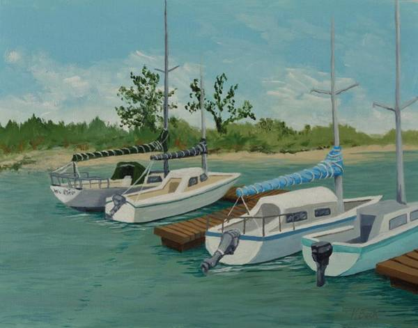 Morro Bay Painting - Morro Bay State Park Ca by Katherine Young-Beck