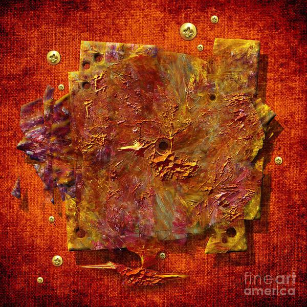 Painting - Mortar Disc by Alexa Szlavics