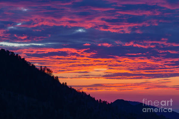 Photograph - Morton Overlook Sunset by Richard Sandford