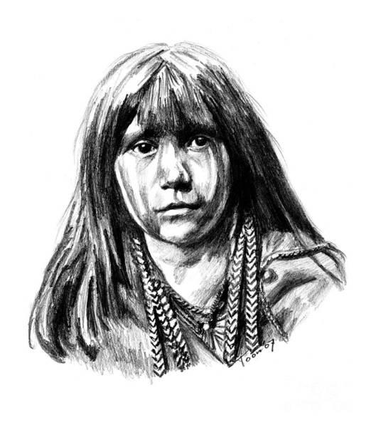 Drawing - Mosa by Toon De Zwart