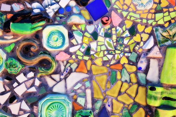 Photograph - Mosaic Artwork by Jill Lang