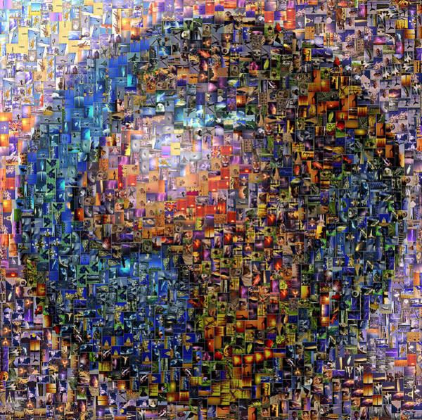 Daylight Digital Art - Mosaic Earth 2 by Yury Malkov