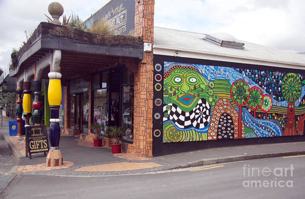 Wall Art - Photograph - Mosaic Street Art by Anthony Forster