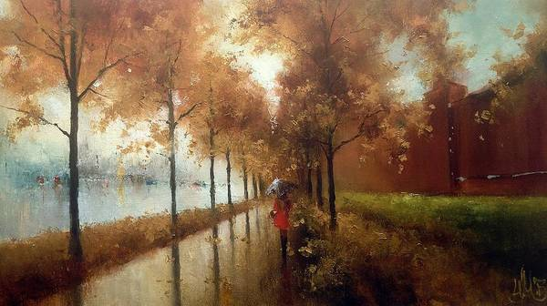 Painting - Moscow Autumn by Igor Medvedev