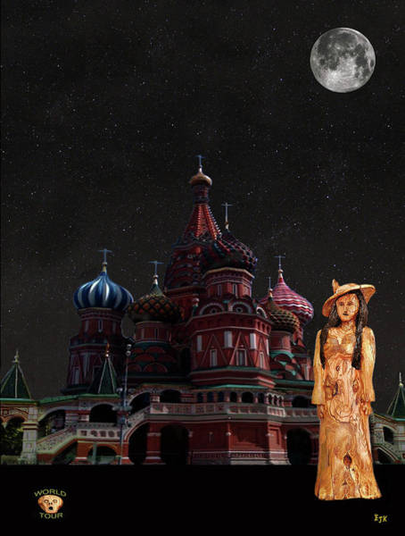 Mixed Media - Moscow Fashion by Eric Kempson