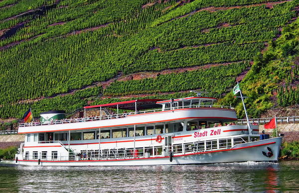Photograph - Mosel River Cruise  by Anthony Dezenzio