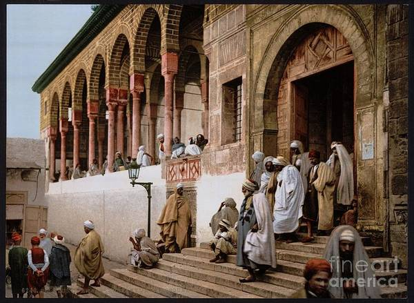 Painting - Mosque In Tunis by Celestial Images