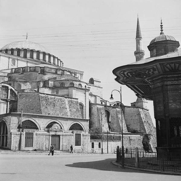 Landmark Photograph - Mosque In Turkey by Horst P Horst