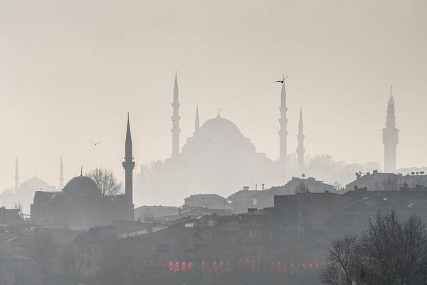 Wall Art - Photograph - Mosques Of Istanbul by Ayhan Altun