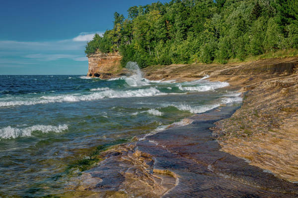 Photograph - Mosquito Harbor Waves  by Gary McCormick