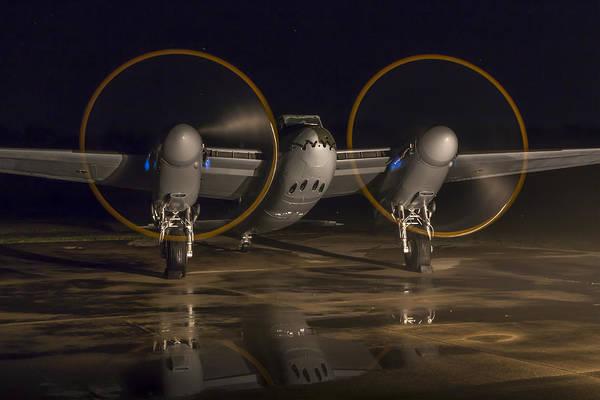 Mosquito Night Engine Run Art Print