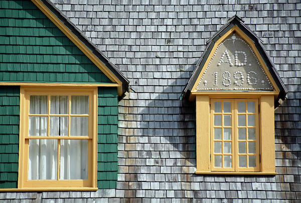 Photograph - Moss Cottage Windows Jekyll Island by Bruce Gourley