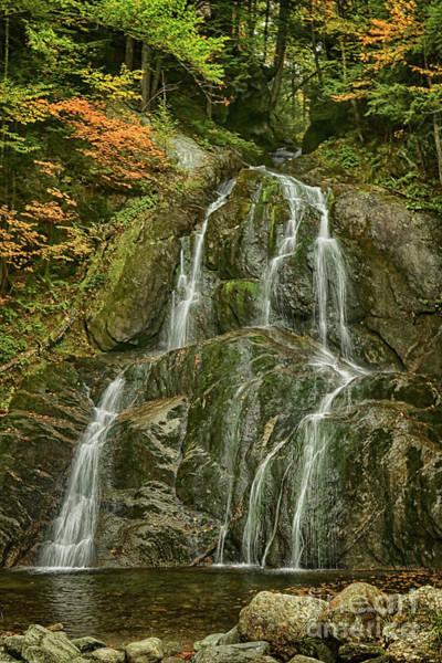 Photograph - Moss Glen Falls by Deborah Benoit
