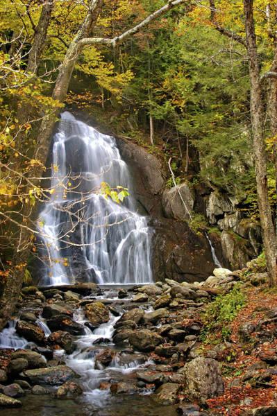 Photograph - Moss Glen Falls by Jill Love