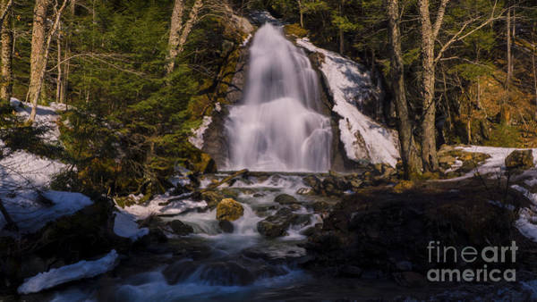Photograph - Moss Glen Falls by Scenic Vermont Photography
