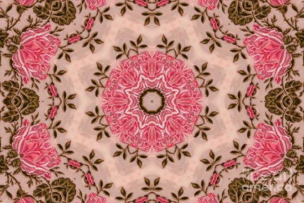 Digital Art - Moss Rose by Elaine Teague