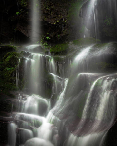 Photograph - Mossy Waterfall by Mike Koenig