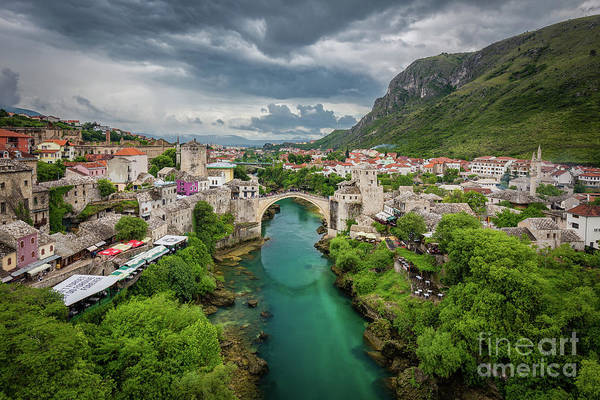 Stari Photograph - Mostar by JR Photography