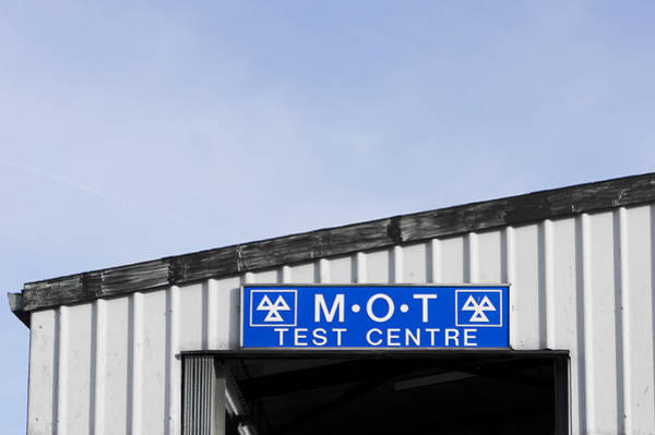Motoring Photograph - Mot Centre by Tom Gowanlock
