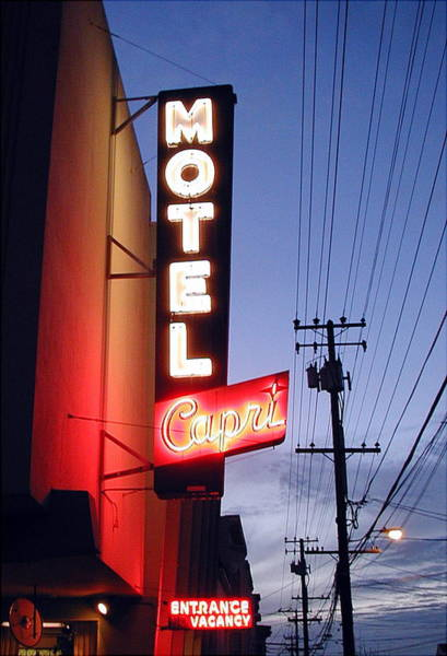 Wall Art - Photograph - Motel Capri by Mark Stevenson