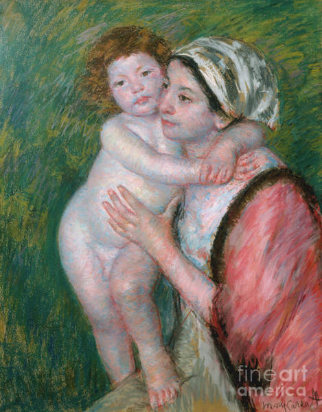 Pastel - Mother And Child, 1914 by Mary Stevenson Cassatt