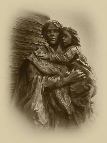 Photograph - Mother And Child by Bill Cannon