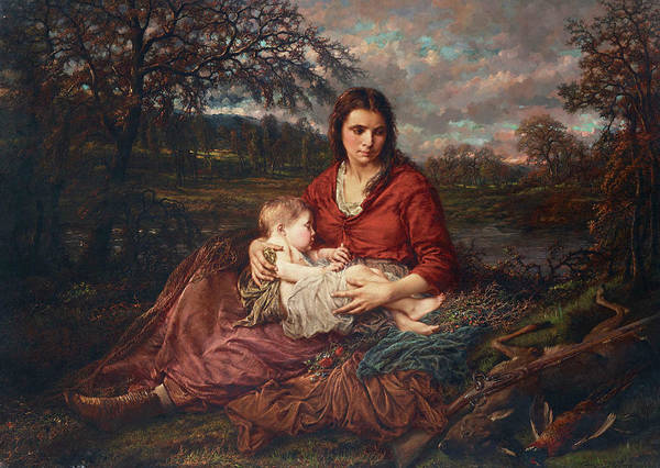 Peace And Love Painting - Mother And Child by Henry Campotosto
