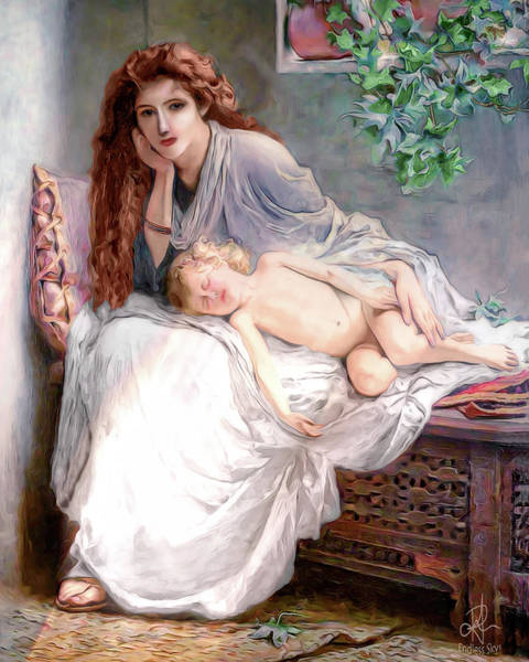 Digital Art - Mother And Child by Pennie McCracken