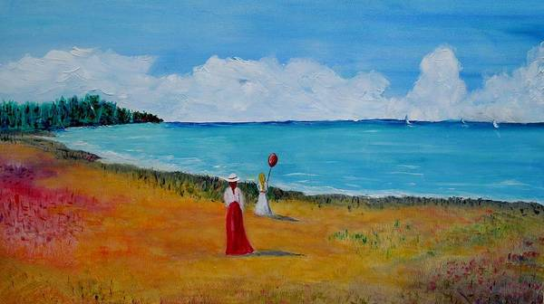 Painting - Mother And Daughter by Marilyn  McNish