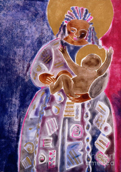 Painting - Mother And Son - Mmmso by Br Mickey McGrath OSFS