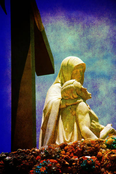 Inri Wall Art - Photograph - Mother And Son by Susanne Van Hulst