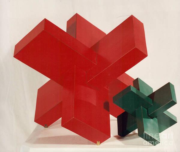 Sculpture - Mother / Child by Robert F Battles