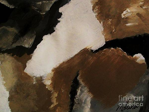 Blending Painting - Mother Earth Ll by Marsha Heiken