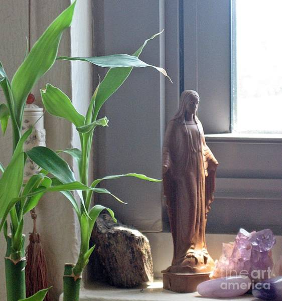 Wall Art - Photograph - Mother Mary...la Virgen...brings Healing Into Your Home by Toni Roberts