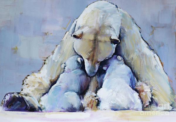 Motherhood Painting - Mother Mountain by Mark Adlington
