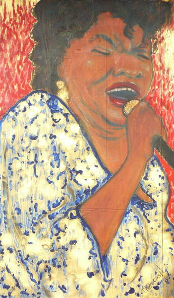 Painting - Mother Nature Koko Taylor by Todd  Peterson