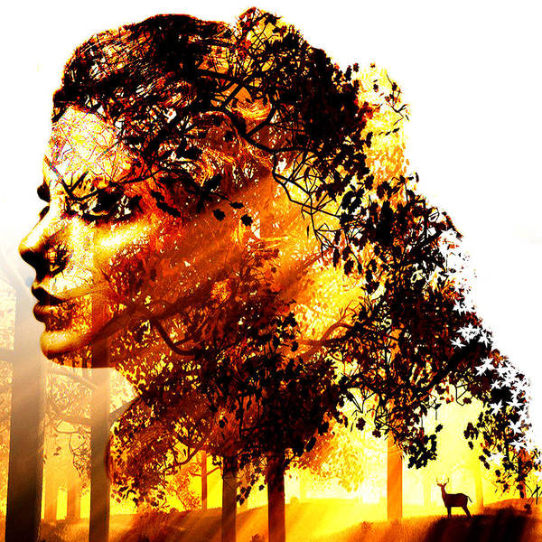 Altered Digital Art - Mother Nature by Marian Voicu