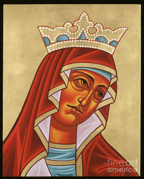 Painting - Mother Of God Fiery Wisdom 148 by William Hart McNichols