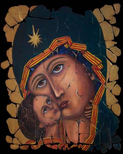 Mother Of God Art Print