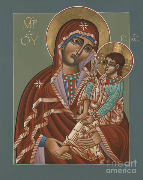 Painting - Mother Of God Of Shuya 178 by William Hart McNichols