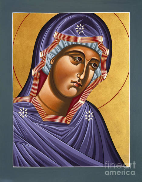 Painting - Mother Of God She Who Carries Me 107 by William Hart McNichols