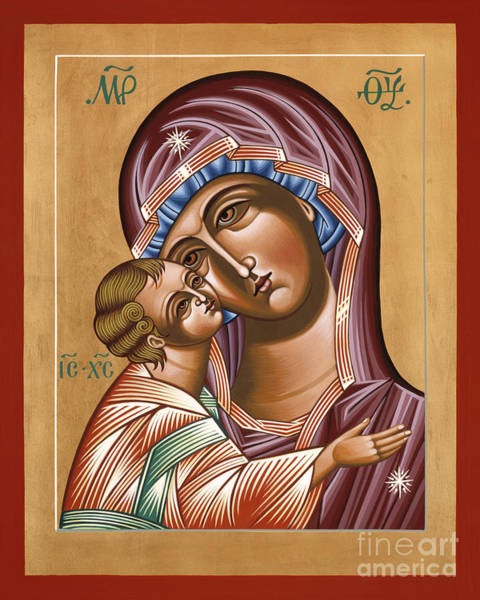 Painting - Mother Of God St Igor Icon 121 by William Hart McNichols