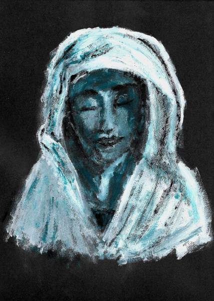 Wall Art - Painting - Mother Of Sorrows by Mikayla Ruth Koble