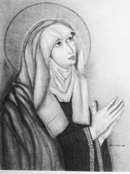 Painting - Mother Of Sorrows Version1 by Alma Bella Solis