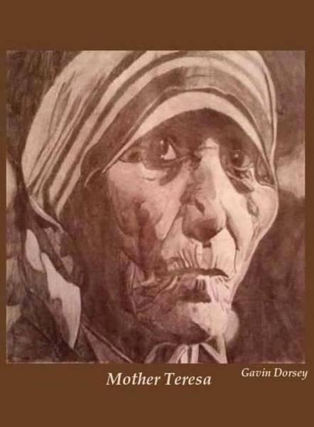 Drawing - Mother Teresa  by Gavin Dorsey
