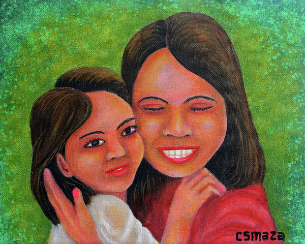 Painting - Mother's Comfort by Cyril Maza