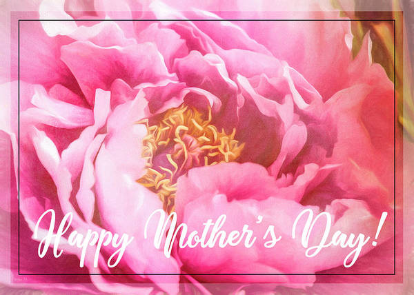Photograph - Mother's Day Peony by Teresa Wilson