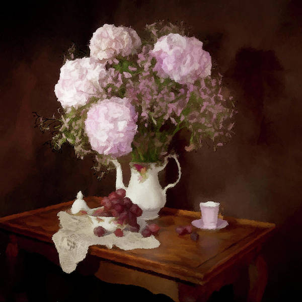 Photograph - Mothers Teapot  by David Dehner