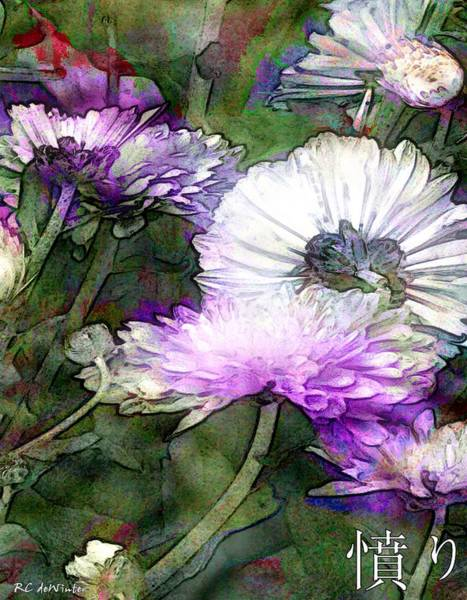 Painting - Motif Japonica No. 12 by RC DeWinter